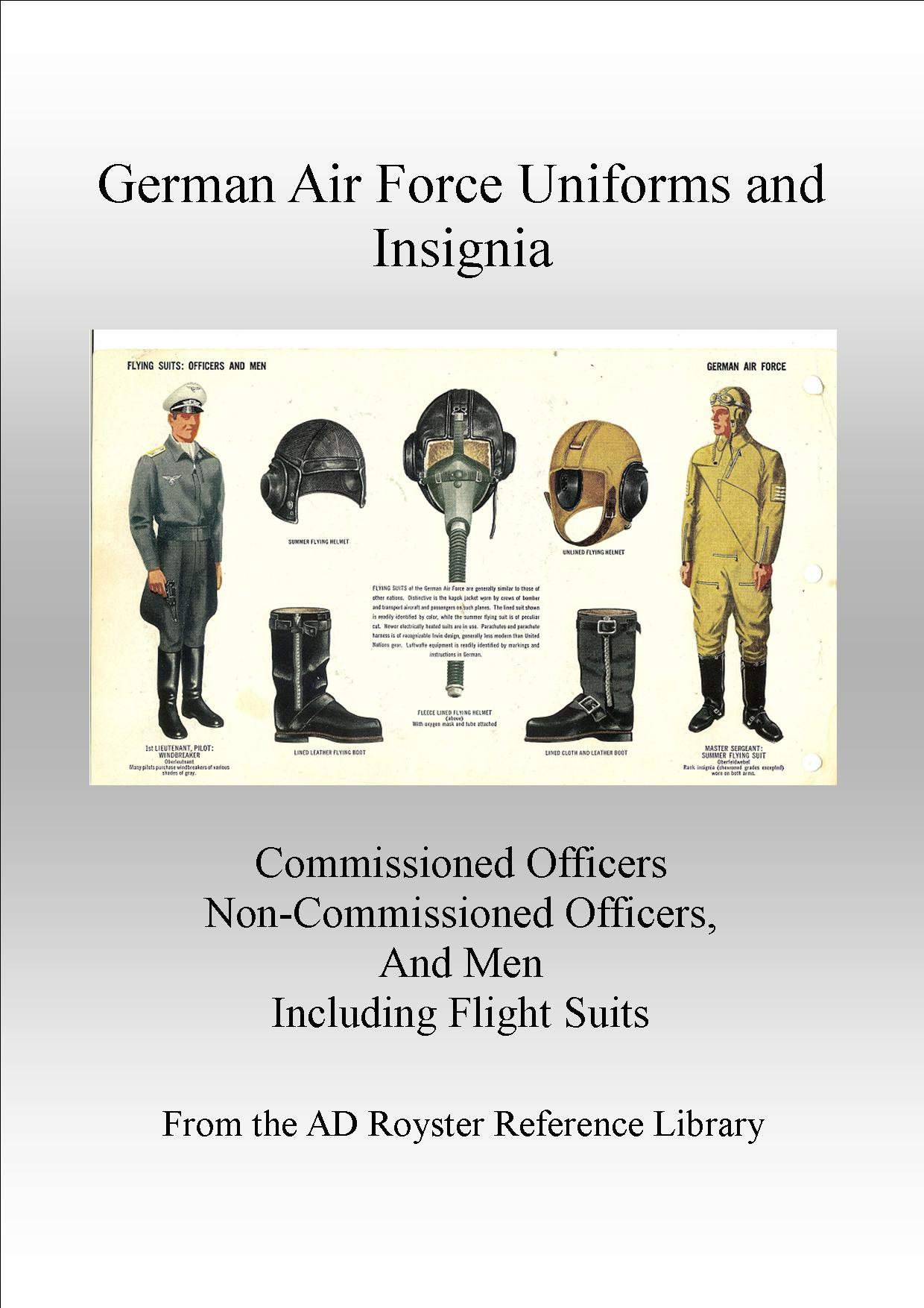 Air Force Uniforms Cover 1