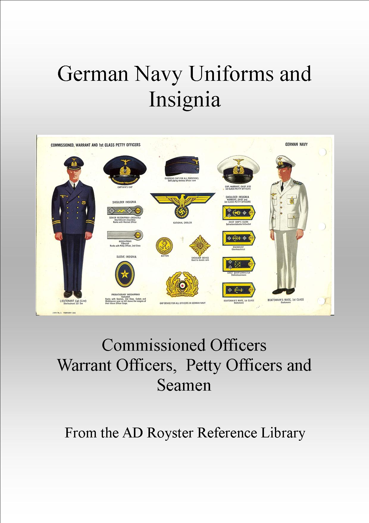 Navy Uniforms Cover 1